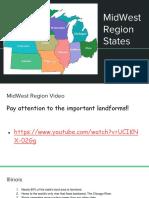 midwest region states powerpoint