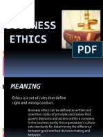 Business Ethics Ppt Final