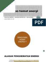W3 Bangunan Hemat Energi