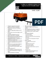 Ficha Técnica del Compresor D210 H