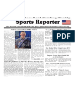 April 25 - May 1, 2018  Sports Reporter