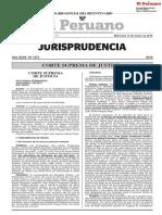 Jurisprudencia peruana del 2014