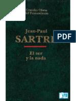 El Ser y La Nada - Jean-Paul Sartre