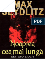 Max Seydlitz-noaptea Cea Mai Lunga