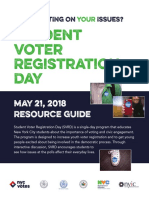 2018 StudentVoterRegistration Resource Guide