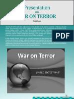 "UNITED STATES' "" WAR ON TERROR """