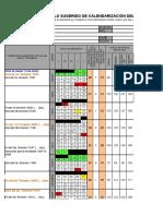 modelo de calendarizacion