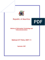 ICT Policy 2007-2011