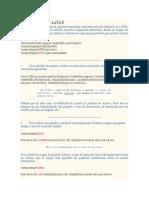 Dar Formato en LaTeX