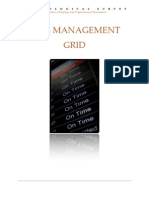 Covey's Time Management Grid