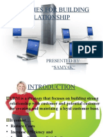 Strategies for Building Relationship 03