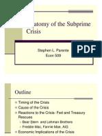 Anatomy Subprime Crisis