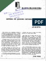 Antena de Quadro Retangular