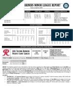 04.23.18 Mariners Minor League Report