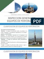 Inspeccion General de Equipos de Perforacion
