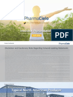 PharmaCielo_Investor Presentation_v35 - Deal Deck