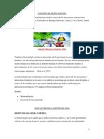 Concepto de Biotecnologia y Clasificacion