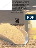 Aceite y Expeller de Soja - Arija, Cruz Perdigués, Páez