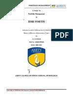 Portfolio management of various funds