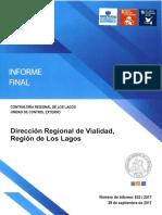 Informe Final 632 17 Direccion de Vialidad Auditoria a Procesos Para Conservar Red Vial Bajo Su Tuicion Septiembre 2017