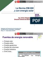 Em-080 Energia Solar