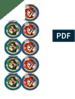 Adesivos Do Mario Bross