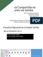 Compartir Carpeta Vía Samba - Lubuntu