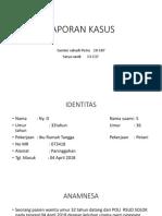 Laporan Kasus Sc Dewi Rahayu