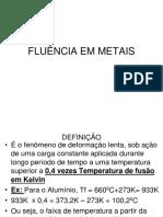 FLUÊNCIA EM METAIS.ppt