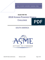 2018 HPVC Rules South America