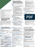 PIL for Sudafed Decongestant