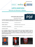 Alerta Sanitaria Numero 017-2018 - Vitacerebrina Francesa_