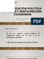 Organización Política de Chile y Participación Ciudadana[2188]
