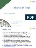 15.1 Internet of Things