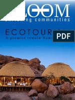 Ecotourism (Namibia 2030)