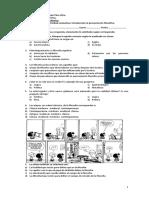 Evaluación parcial N° 1