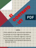El Contrato- Ley