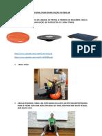 Material Para Reabilitação Vestibular