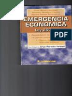 Emergencia Economica Ley 25344