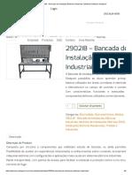 2902IB – Bancada de Instalação Elétricas Industriais _ Módulos Didáticos Datapool