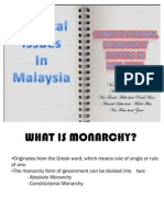 Constitutional Monarch Ppt