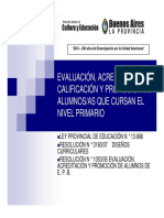 Evaluacin, Acreditacin, Calificacin y Promocin (1)