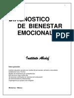 Diag. Bienestar Trabajo Dr. Roberto Benaviodes