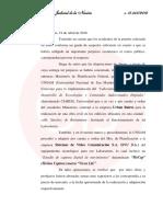 Citación a Julio De Vido