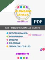 PPT GELOMBANG CAHAYA
