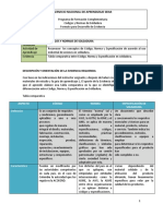 Evidencia 3 Tabla Comparativa Entre Código Norma y Especificación en Soldadura