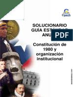 Solucionario Clase 02 Constitución de 1980 y Organización Institucional