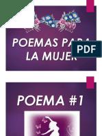 Poemas Para La Mujer