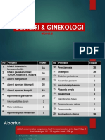 Obstetri & Ginekologi Modul 2