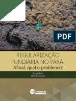 BRITO, Brenda; JUNIOR, Dário Cardoso. Regularização Fundiária No Pará- Afinal, Qual o Problema